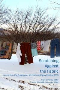 Scratching Against the Fabric: poems from the Bridgewater International Poetry Festival 2013
